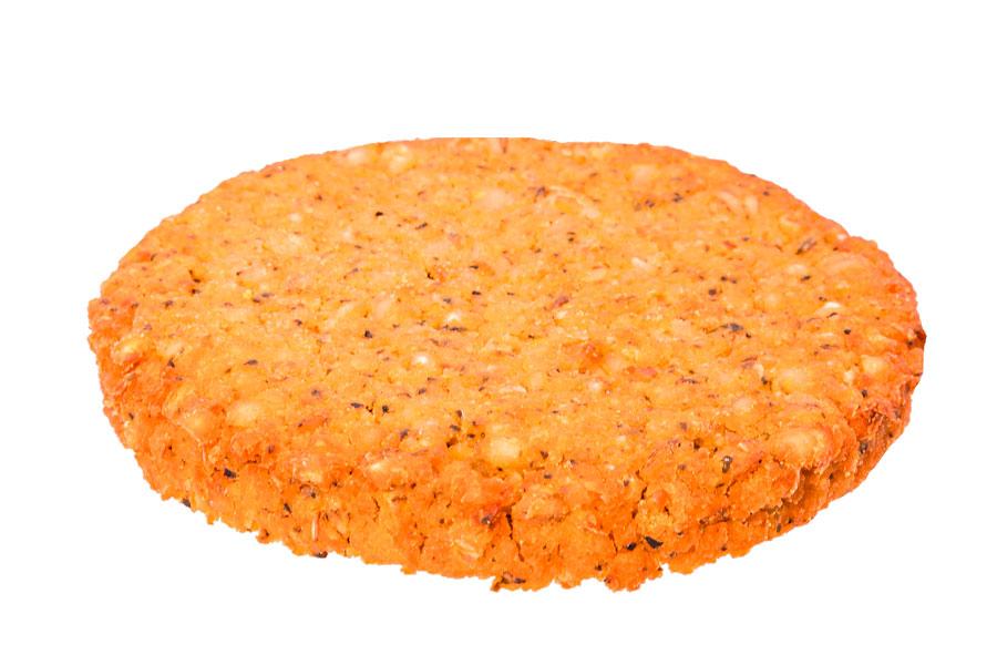 Burger di ceci e orzo perlato