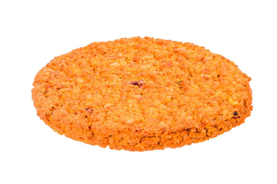 Burger  di lenticchie  e riso basmati