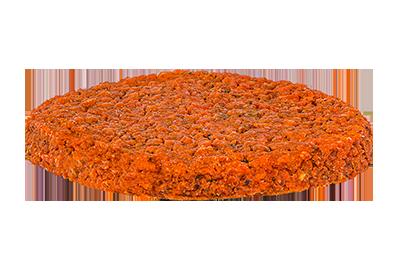 Burger di lenticchie e barbabietola